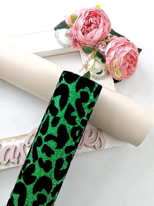 Leopard Print Green