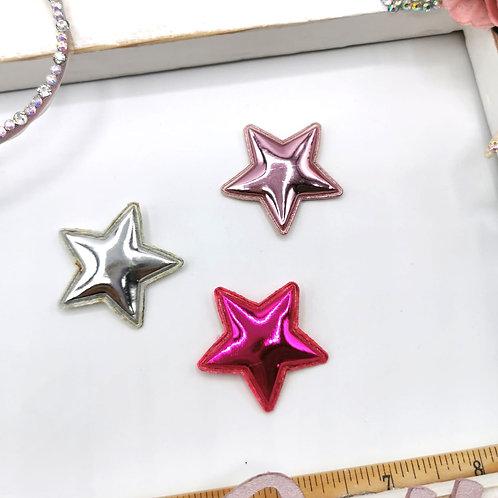 Metallic Padded Stars