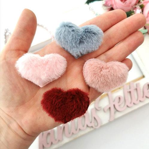 Embellishment - Fluffy Hearts
