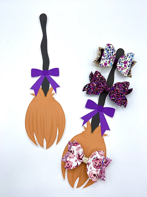 Hairbow Display Cards (Broomstick)