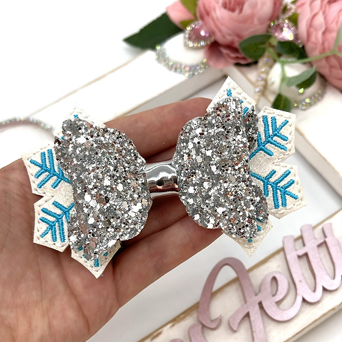 Snowflake Bow Tails