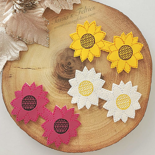 Suntastic Sunflower Bow Tails