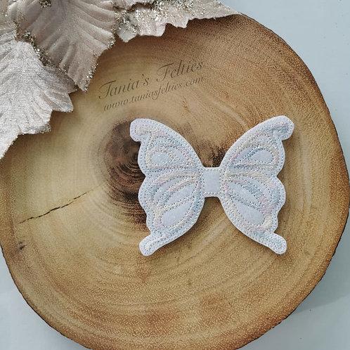 Pastel Paradise Butterfly Oversized Feltie (Glitter)