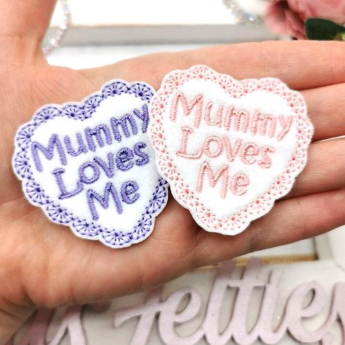 Mummy Loves Me Felties (Pack of 2)