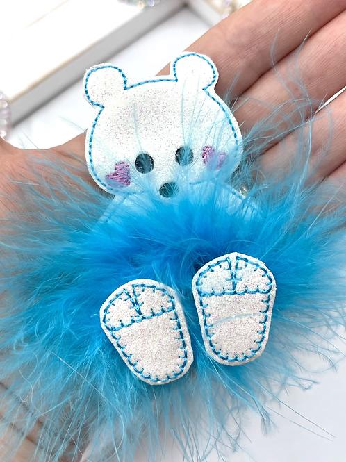 Fuzz-tums!! Paul Polar bear