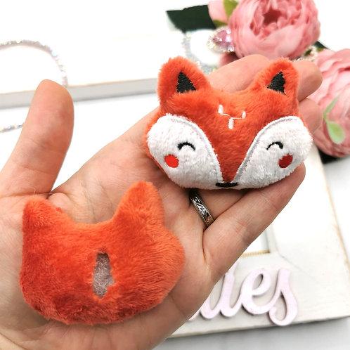Embellishment - Padded Fox Face