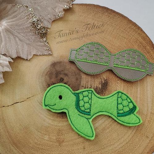 Tea-Tree Turtle Bow Tails