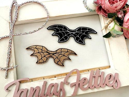 Bat Wings Bow Tails (Glitter)