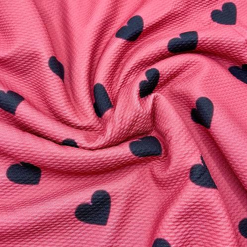 Raven Hearts Bullet Fabric