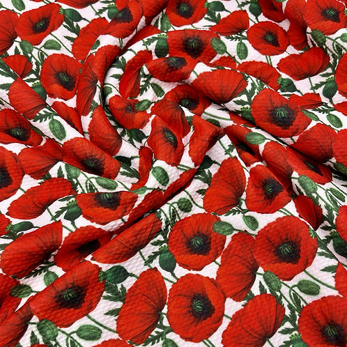 Simply Poppies Bullet Fabric