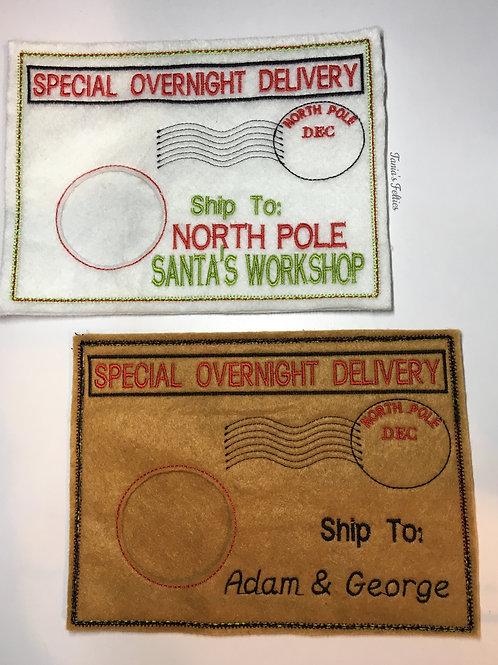 Elf Doll Envelopes (set of 2)