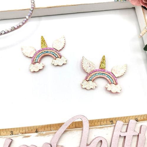 Flying Rainbow Applique