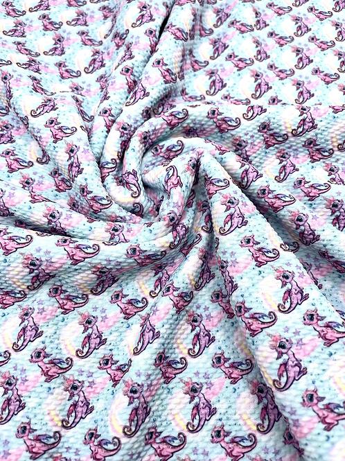 Cutesy Dragon Bullet Fabric