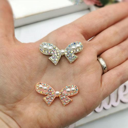 Embellished Bow Applique