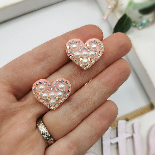 Embellished Heart Applique