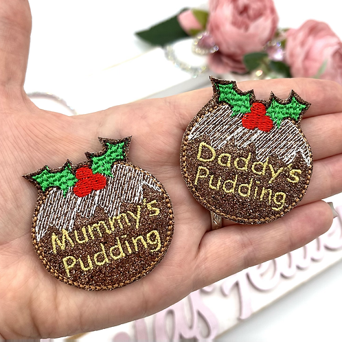 Mummy / Daddy's Pudding Feltie