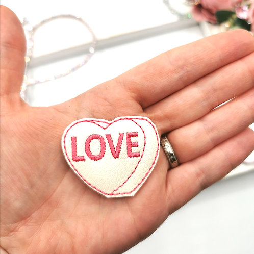 Candy LOVE Heart (Pack of 4)