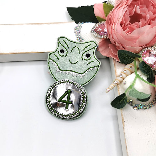 Dinosaur Birthday Badge