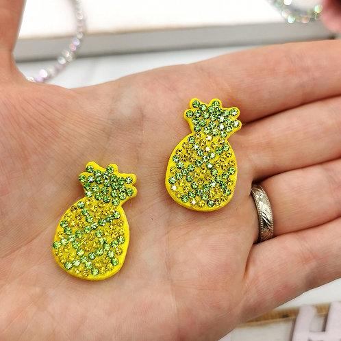 Embellished Pineapple Applique