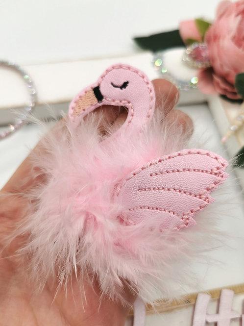 Fuzz-tums!! Frankie Flamingo
