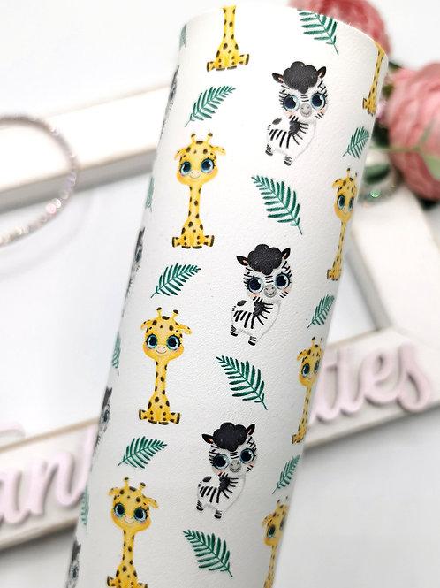 OMG! Leatherette (Giraffes & Zebras)