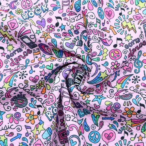 Funky Doodle Bullet Fabric