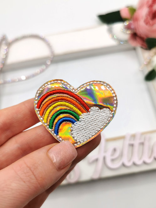 Heart Rainbow Felties (Pack of 4)