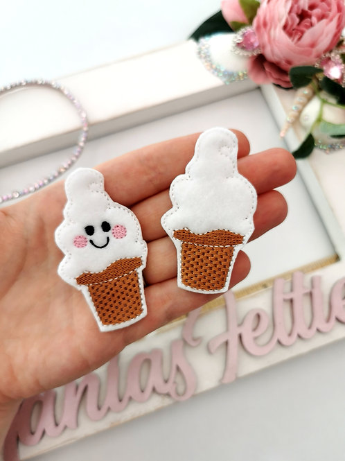 Ice Cream Kawaii Feltie