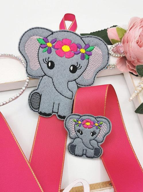 Ella Elephant Bow Holder