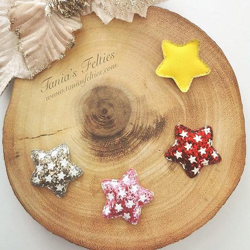 Embellishment - Padded Stars