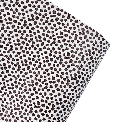 Dalmatian Print Leatherette