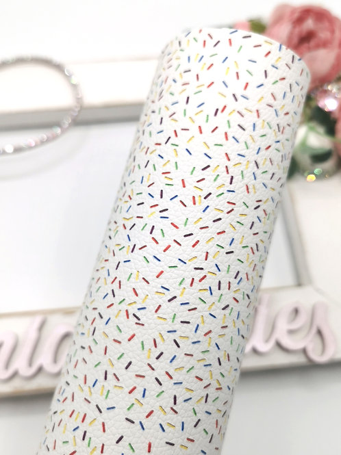 Ice Cream Sprinkles Leatherette