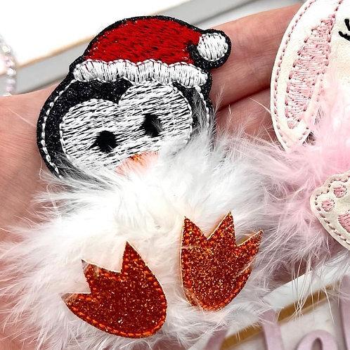 Fuzz-tums!! Holiday Penguin