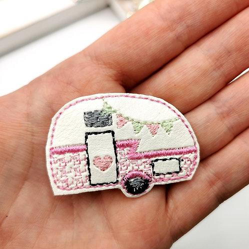 Pretty Pink Caravan Feltie (Pack of 4)