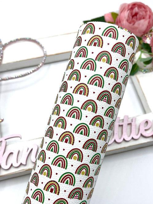 Festive Rainbows Leatherette