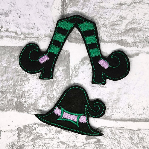 Witch Bow Parts (Green)