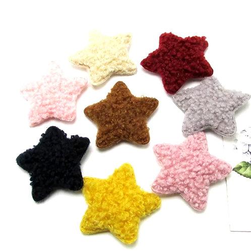 Embellishment - Plush Teddy Star