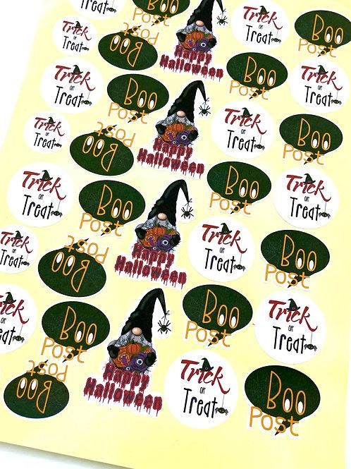 Halloween Stickers (Matt Finish)
