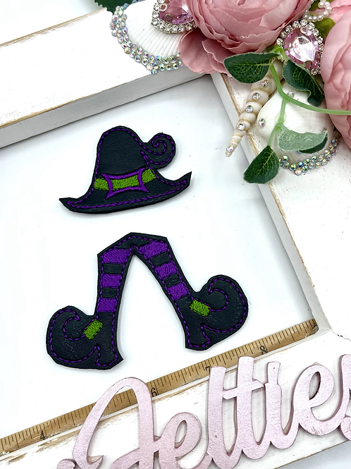 Witch Bow Parts (Purple)
