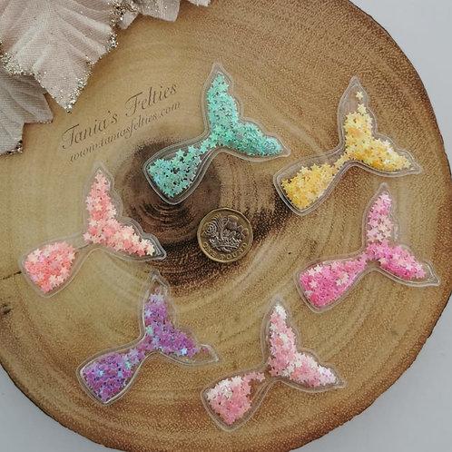 Mermaid Tail Shaker - Stars