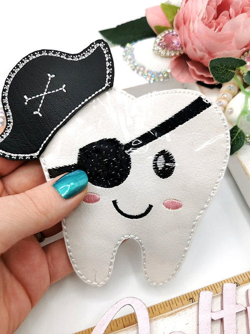Pirate Tooth Pouch