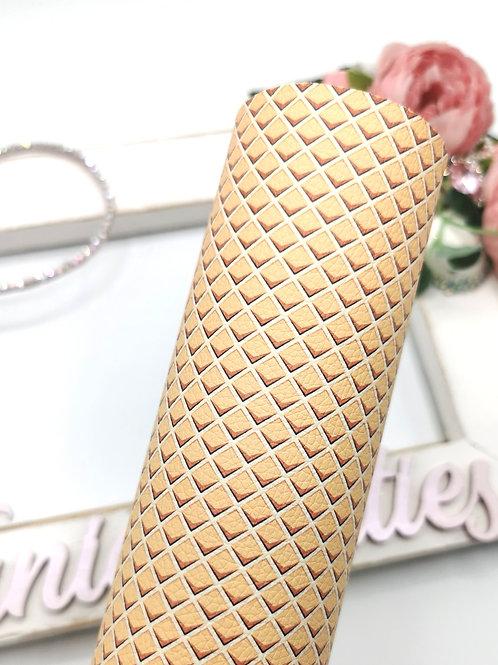 Ice Cream Cone Leatherette