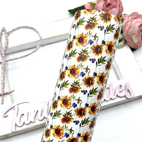 Classic Sunflower Leatherette