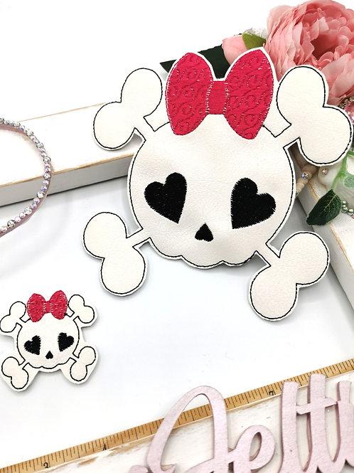 Skull & Bones Bow Holder