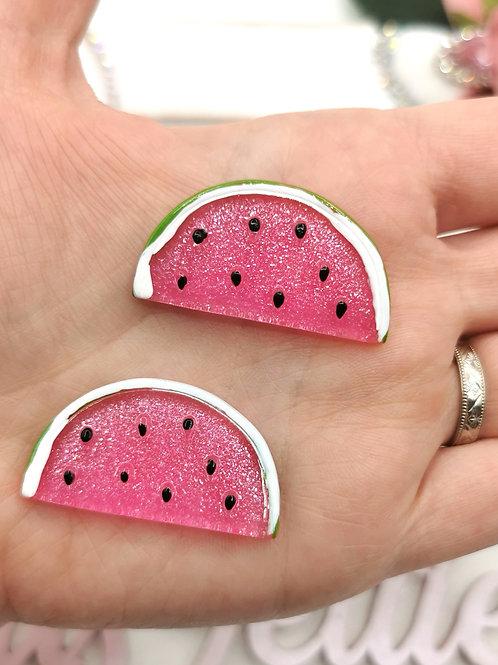 Watermelon Slice Resin (Bright Pink)