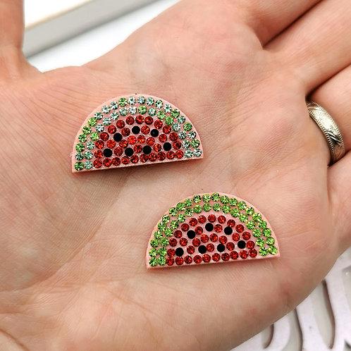 Embellished Watermelon Applique