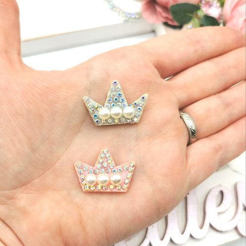 Embellished Crown Applique