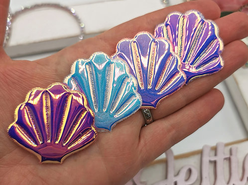 OMG! Holographic Clam Shells