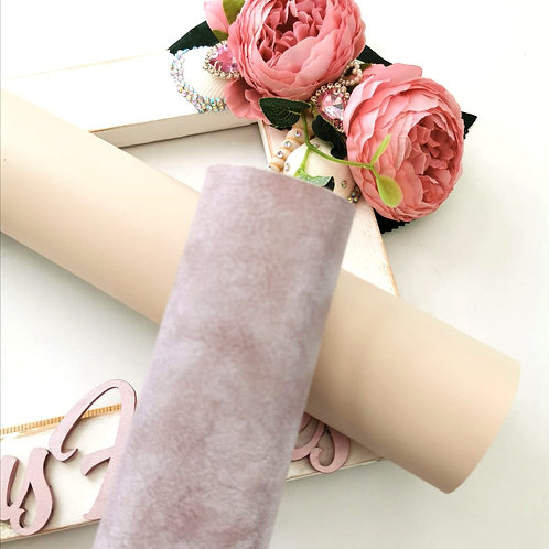 Lilac Shimmer Leatherette