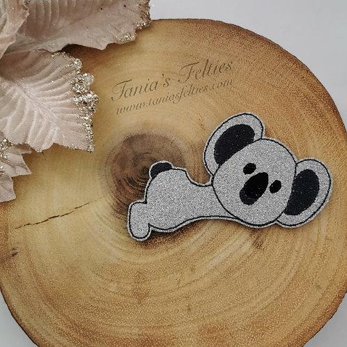 Koala Bear Bow Tails (Glitter)